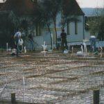 Vorbereitung für die Bodenplatte
